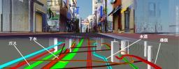 地下埋設物の位置情報を3次元で可視化する技術 地上・地下インフラ3Dマップ_写真