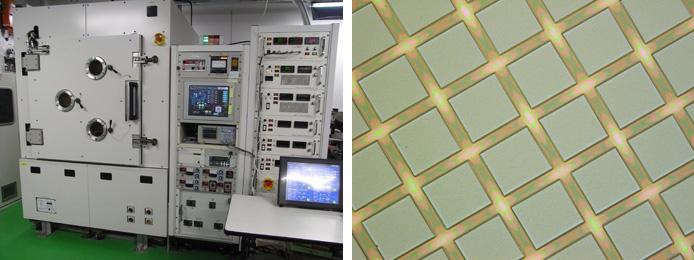 DC単パルスプラズマCVD装置_写真
