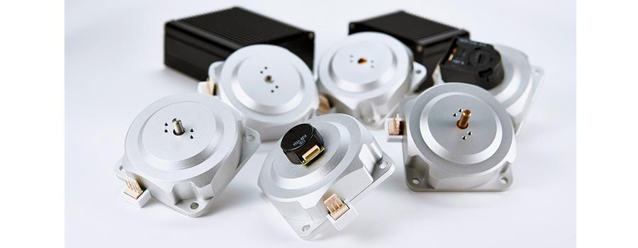磁場環境用高トルク超音波モータ PSM60N シリーズ_写真