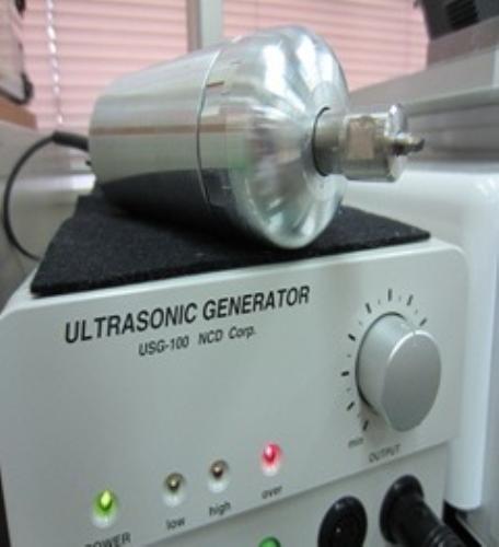 高剛性超音波カッターの開発と実用化 超音波スクライバー&超音波シェーパー_写真