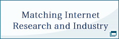 matching internet research and industry