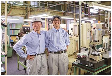 若手技術者と実務指導者