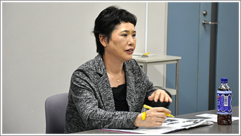 髙松喜久子氏(株式会社共立理化学研究所)