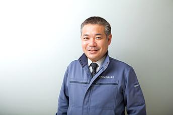 (株)西尾硝子鏡工業所の西尾社長