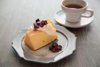 Café Slik(カフェ スリック) いちおしメニュー:プレーンシフォンサンド 写真