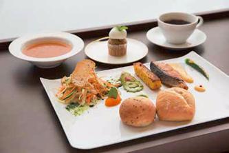 CAFE SALUTE(カフェ サルーテ) いちおしメニュー:ヘルシーランチプレート 写真