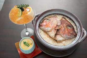 創作和食零 いちおしメニュー:ブルーチーズの茶碗蒸し 写真
