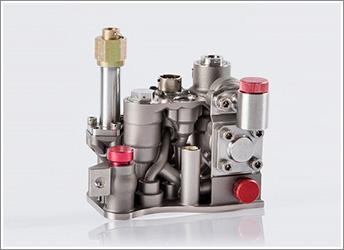 エアバスA380のプライマリーフライトコントロール油圧部品