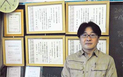 テックストレーキ(大田区羽田)の引地正和社長