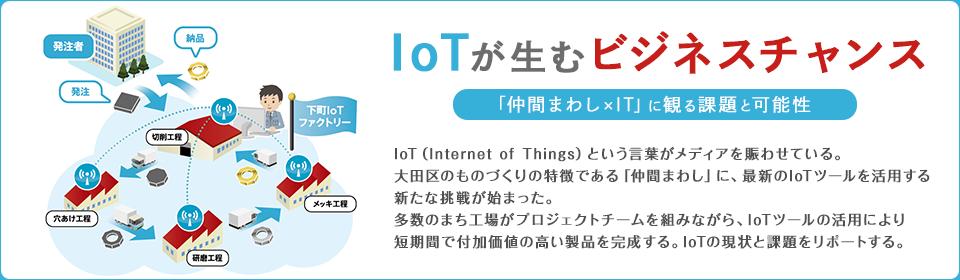 IoTが生むビジネスチャンス ~「仲間まわし×IT」に観る課題と可能性~