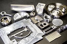 複雑形状の金属加工部品